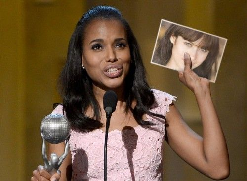 Marco para fotografías de Kerry Washington