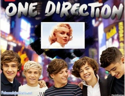 fotomontaje con One Direction